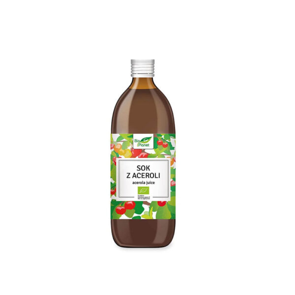 bio planet sok z aceroli bio 500 ml