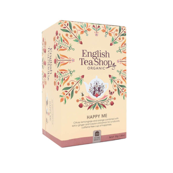 english tea shop Herbatka Happy Me (20×1,5) bio 30 g