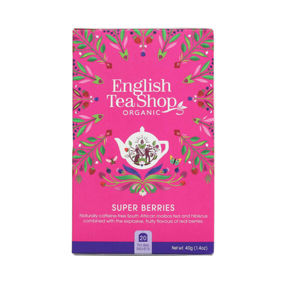 english tea shop Herbatka owocowa (20×2) BIO 40 g