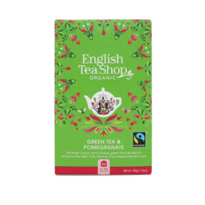 english tea shop herbata zielona z granatem 2x20g