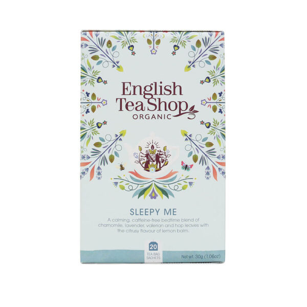 english tea shop herbatka zio+éowa Sleepy Me (20×1,5) bio 30 g