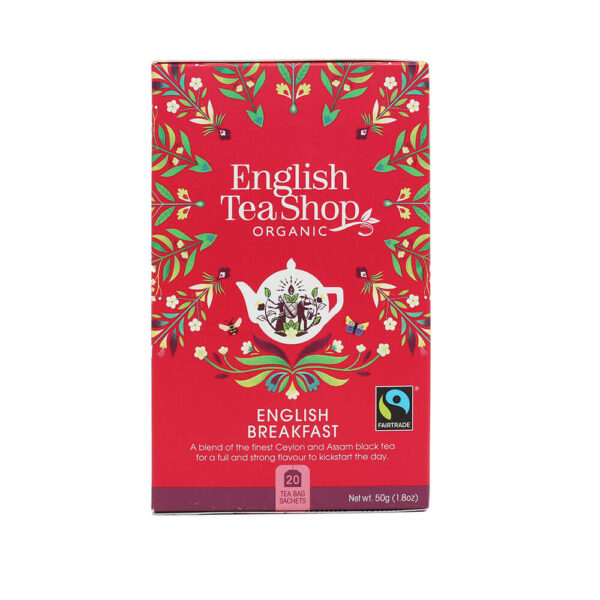engloish tea shop Herbata English Breakfast (20×2,5) BIO 50 g