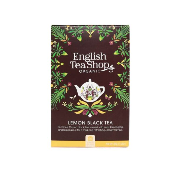 english tea shop herbata czarna z traw¦ů cytrynow¦ů bio
